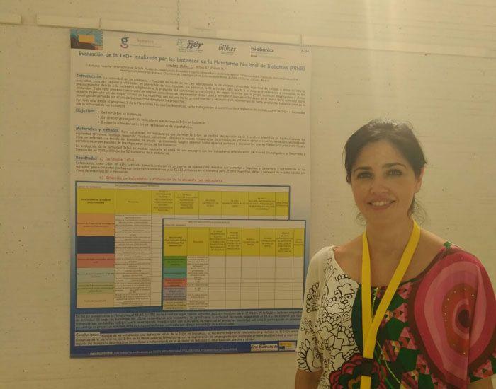 Doctora Isabel Sánchez Muños, responsable del Biobanco del Hospital Universitario de Getafe