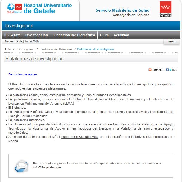 Plataformas Miniweb