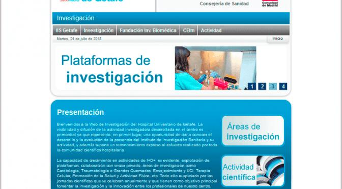 Mini web de investigación