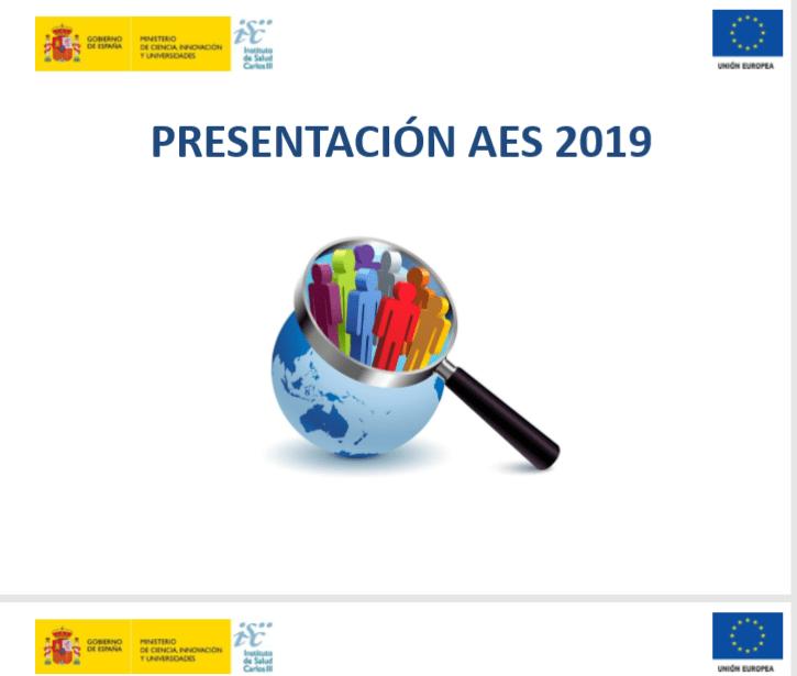 Portada presentación AES