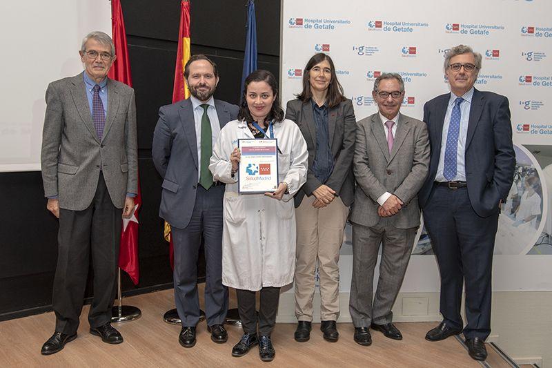 Laura Pedraza, accésit premio residentes