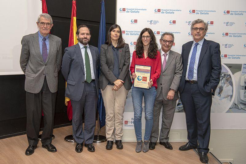 Lara Cristóbal, accesit premio residentes