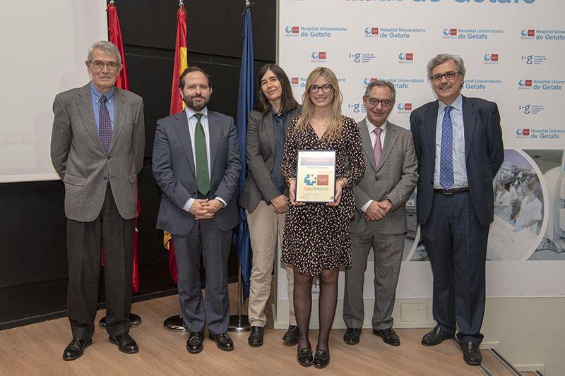 Mª Jesús Espinosa, Premio Residentes