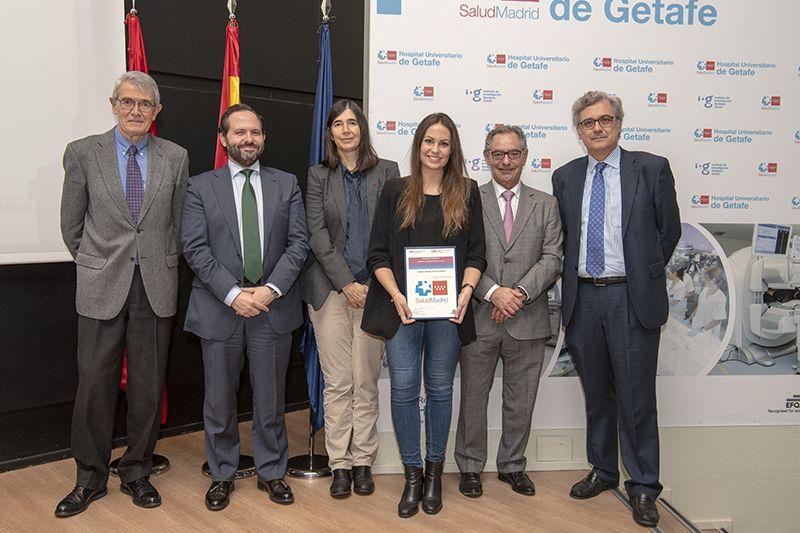 Gema Sánchez, Premio Residentes