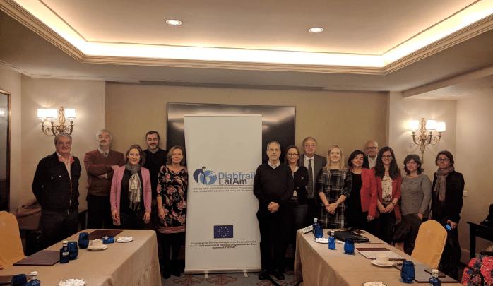 Grupo de representantes del proyecto Diabfrail LatAm
