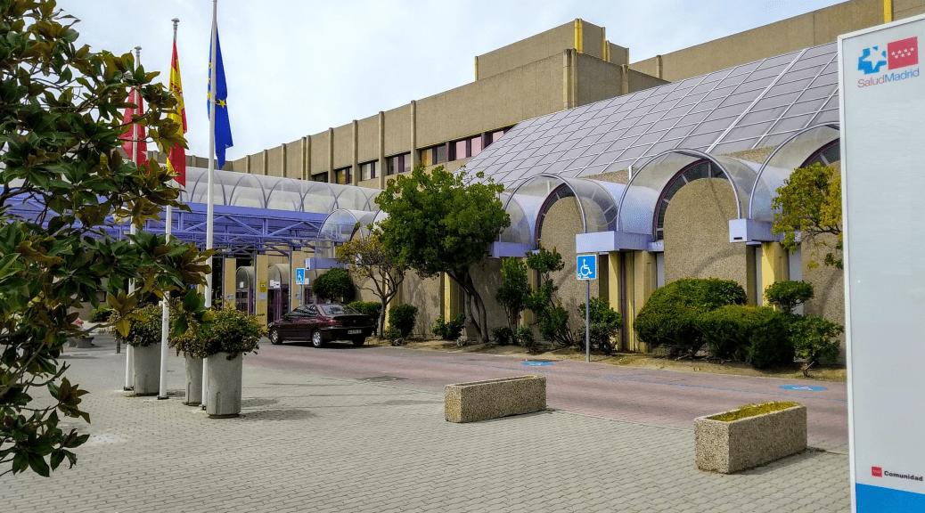 Fachada del Hospital Universitario de Getafe