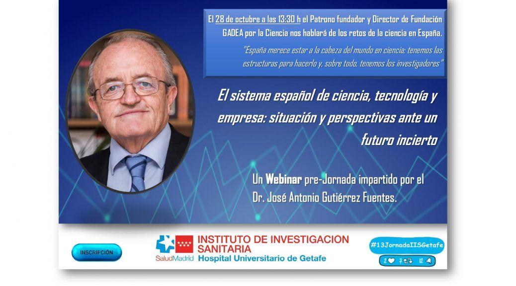 Webinar Dr. José Antonio Gutiérrez Fuentes