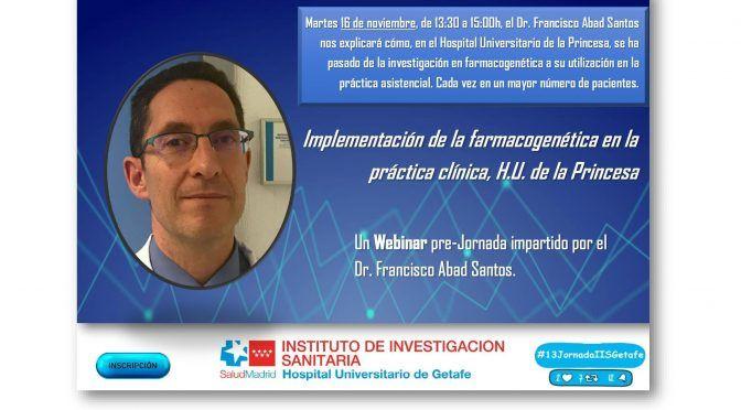 Webinar a cargo del Dr. Francisco Abad Santos